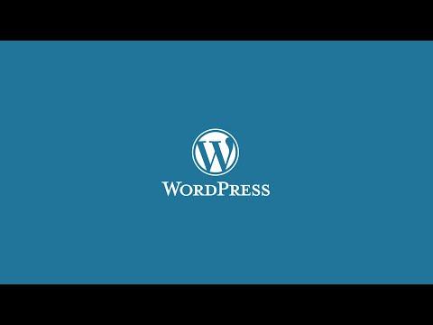 come installare wordpress?