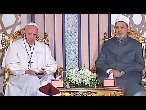 """البابا في زيارة """"وِحدة وأخوة"""" لمصر"""
