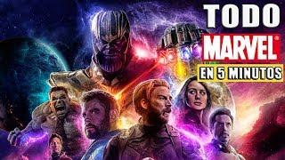 Resumen: Todo El Universo Cinematografico de Marvel *RESUMIDO* en 5 Minutos (Resumen de TODO Marvel)
