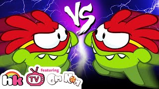 Video NEW | Om Nom Stories: Super Noms - Double Trouble 🐸🐸 | Cut The Rope | Funny Cartoons for Children! MP3, 3GP, MP4, WEBM, AVI, FLV Desember 2018