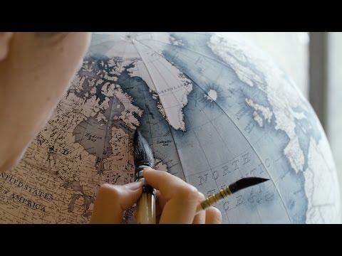 The Art of Handmade Globes