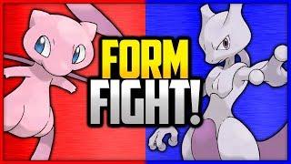 Mew vs Mewtwo | Pokémon Form Fight (Legendary) by Ace Trainer Liam