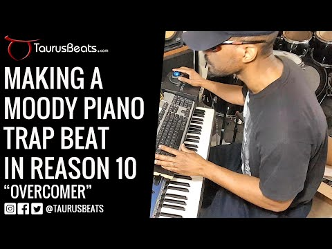 image for Overcomer Piano Freestyle Beat