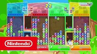 Puyo Puyo Tetris is coming to Nintendo Switch on 28th April! #Nintendo #NintendoSwitch #SEGA Official Website: http://www.nintendo.co.uk/Games/Nintendo-Switc...