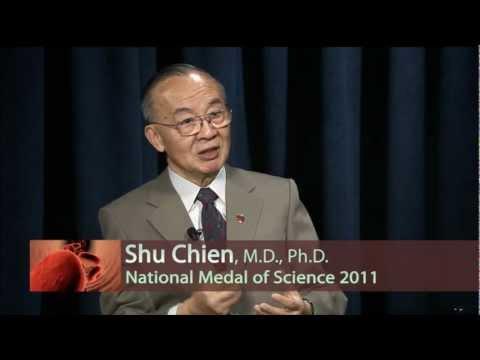 Das Weiße Haus Preis UC San Diego Bioengineering Professor Shu Chien Das nationale Orden für Wissenschaft