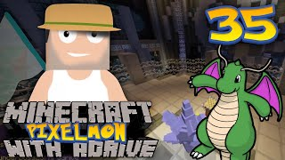 Minecraft PIXELMON with aDrive! Ep35 Paralyzed - PocketPixels Red Let's Play! by aDrive