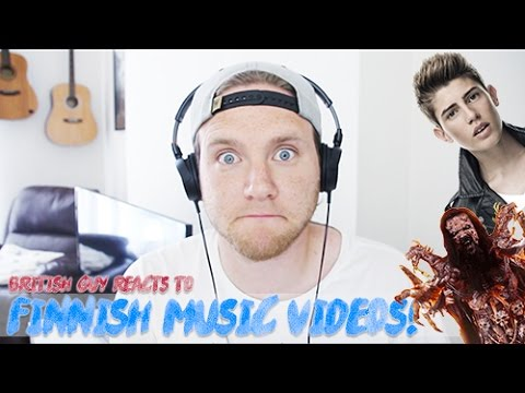 REACTING TO FINNISH MUSIC VIDEOS | Part 1