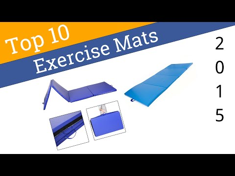 10 Best Exercise Mats 2015