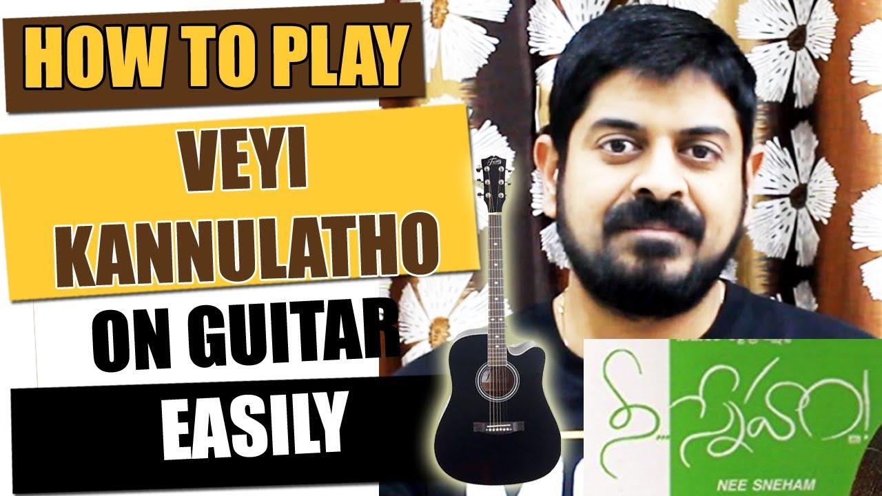 Veyi Kannulatho – Guitar Tutorial – Telugu Guitar Songs
