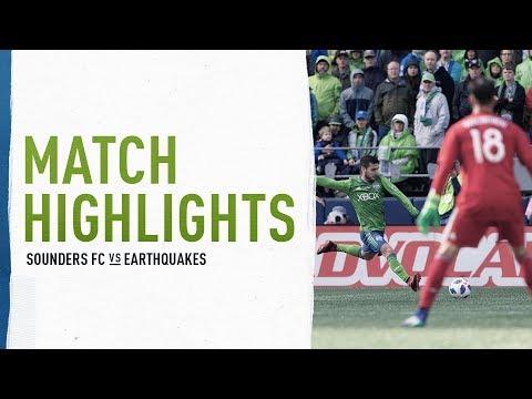 Video: HIGHLIGHTS: Seattle Sounders FC vs. San Jose Earthquakes