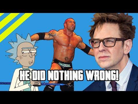 Weirdos Come Out In Support Of Weirdo James Gunn!