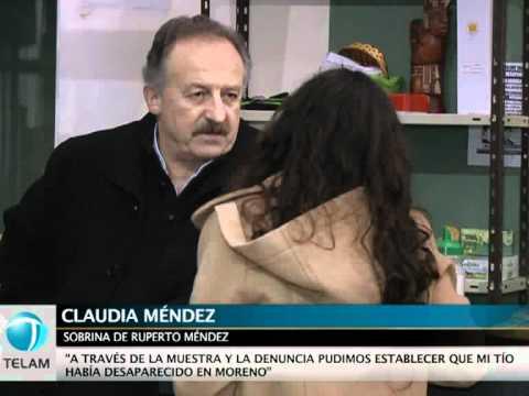 Identificaron restos de Tito Méndez mediante el análisis de ADN