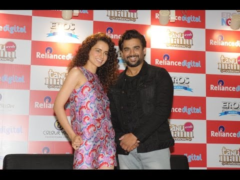 Kangana Ranaut and R Madhavan PromoteTheir Movie 'Tanu Weds Manu Returns'