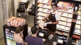 Video Ellen in Your Ear at Dunkin' Donuts! MP3, 3GP, MP4, WEBM, AVI, FLV Agustus 2018