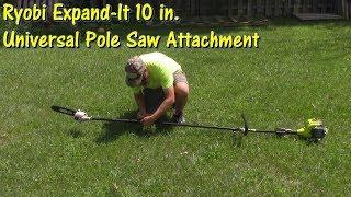5. Ryobi Expand It 10 Inch Universal Pole Saw Attachment Review by @GettinJunkDone