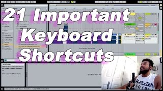D'Loy Show #8 - 21 Important Keyboard Shortcuts in Ableton Live