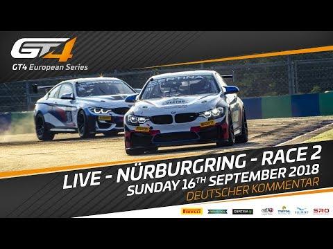 Race 2 - Nurburgring - GT4 European Series 2018 - Deutscher Kommertar