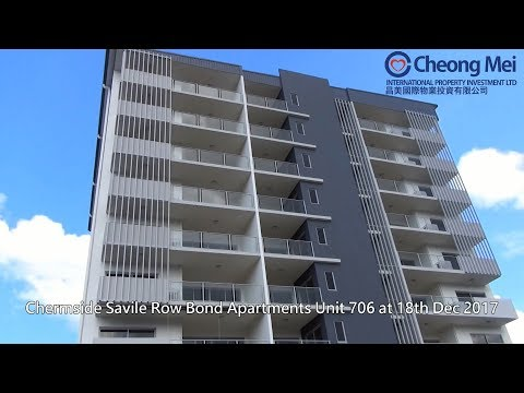 Brisbane Chermside Savile Row Bond Apartments Unit 706