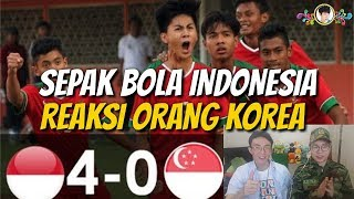 Video Reaksi Tentara Korea Menonton Pertandingan Sepak Bola Indonesia MP3, 3GP, MP4, WEBM, AVI, FLV Desember 2017