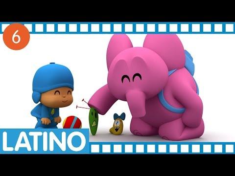 Pocoyó en español para América Latina - Temporada 01 Ep.21-24