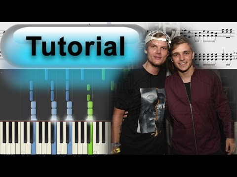 [piano tutorial] Martin Garrix - Hold On & Believe (feat. The Federal Empire)