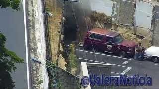 Así fue detonada la granada lanzada a sede del Cicpc en #Valera