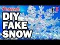 DIY FAKE SNOW - DIY-hó: így csinálj magadnak havat