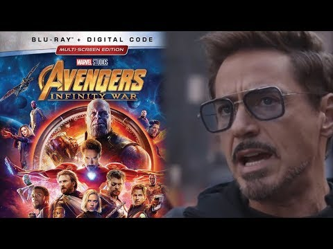 Avengers: Infinity War Blu-Ray Trailer Released and More