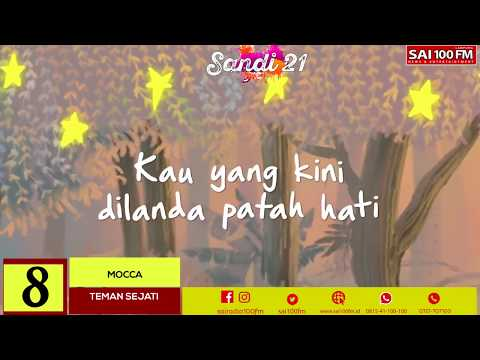 SAI 100 FM - TOP TEN SANDI 21 24 April 2018| 10 LAGU ENAK DAN TERBARU INDONESIA