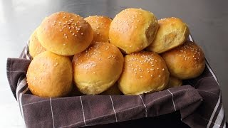 Sweet Potato Burger & Slider Buns - Make Your Own Hamburger Buns!