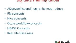 Big Data Training Dubai