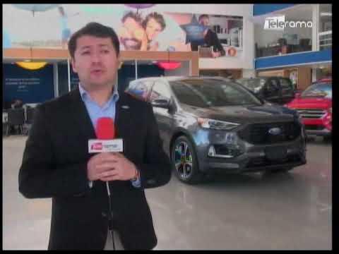 Quito Motors presenta Ford Edge ST primer SUV deportivo del mundo