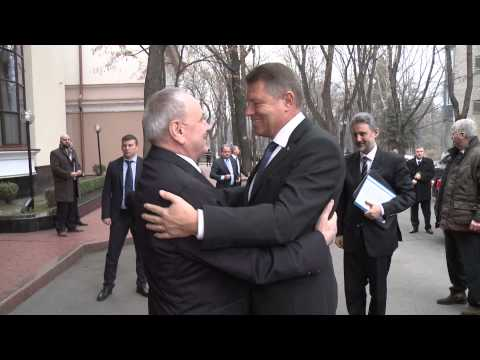 Moldovan head of state meets Romanian president-elect
