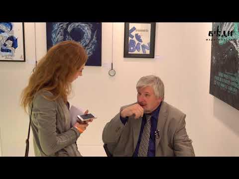 Интервью с профессором Савельевым на выставке каллиграфии #2