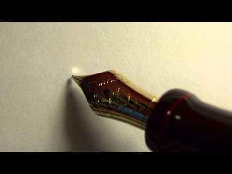 Nakaya Naka-ai Fountain Pen 1080p