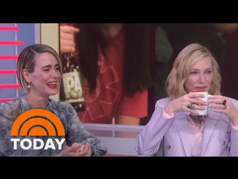 Sarah Paulson And Cate Blanchett Talk About 'Ocean's 8' And Make Hoda Lose It | TODAY