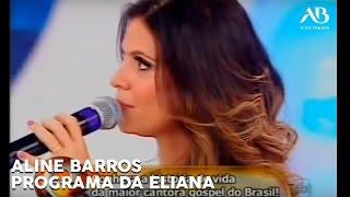 Aline Barros é Homenageada No Programa Eliana
