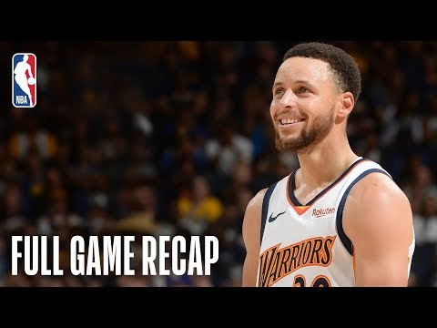 CLIPPERS vs WARRIORS | Golden State Shows Off Throwback Jerseys, Clinch Top Seed | April 7, 2019