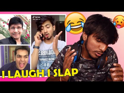 Try Not To Laugh Challenge !!  ( Ashish Chanchlani Vs KRK Vs Carryminati  )