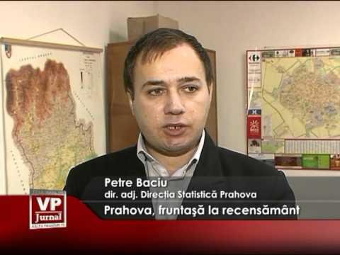 Prahova, fruntaşă la recensământ