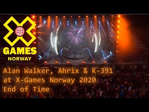Alan Walker, K-391 & Ahrix at X-Games Norway 2020