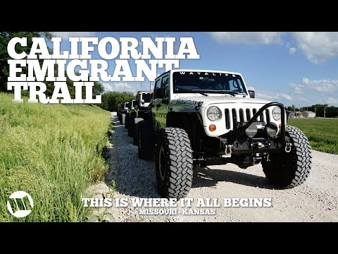 Jeep Wrangler Overland Expedition Across the California Emigrant Trail BUST Part 1 Mi… видео