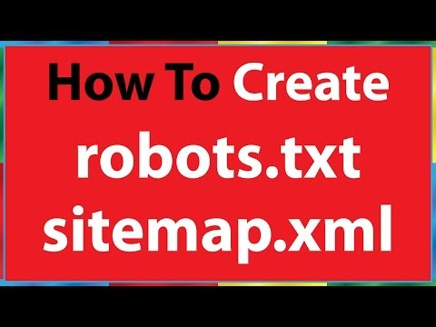 how to create robots.txt