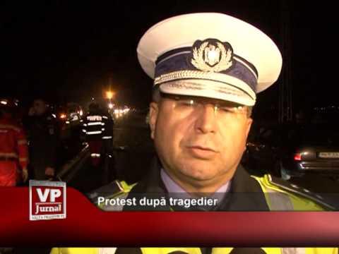Protest după tragedie
