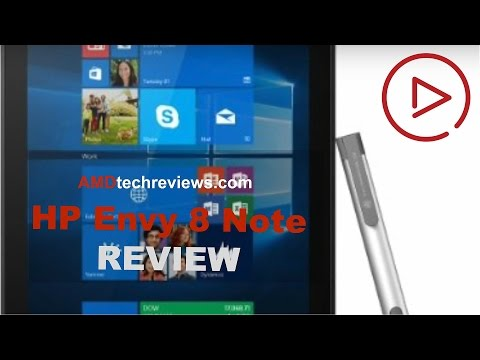HP Envy 8 Note Review