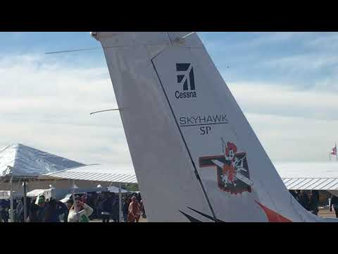 Thunderbird Jet at Alliance Airshow...