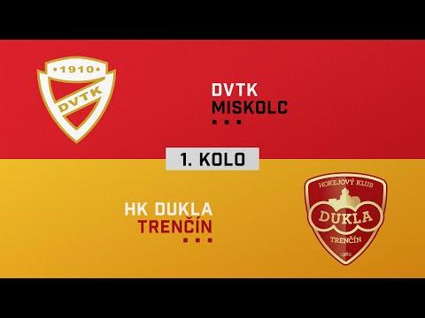 2020/2021 Tipos Extraliga, 1. forduló: DVTK Jegesmedvék- HK Dukla Trencin