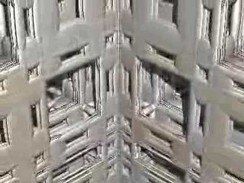 3D IFS Fractal : Inside the Superstructure