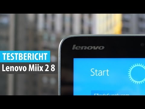 Review: Lenovo Miix 2 Test (Deutsch) | tabtech.de