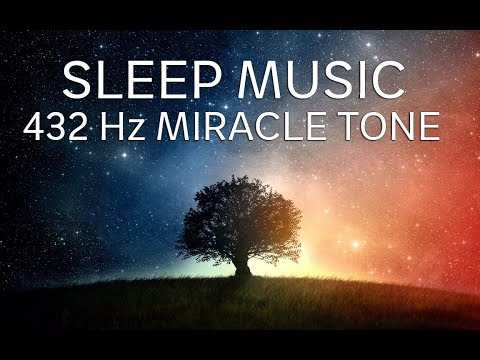 Video The Best SLEEP Music   432hz - Healing Frequency   Deeply Relaxing   Raise Positive Vibrations download in MP3, 3GP, MP4, WEBM, AVI, FLV January 2017